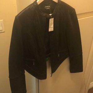 Bebe Moto Leather Jacket